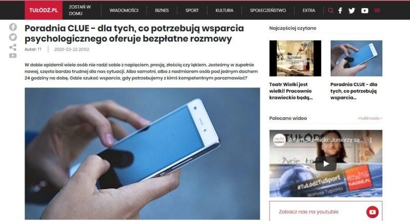Portal internetowy tulodz.pl