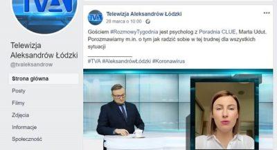 Rozmowa tygodnia w TV Aleksandrów